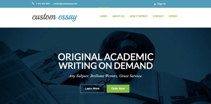 custom essays custom Professional custom writing service offers custom essays, term papers, research papers, thesis papers, reports, reviews, speeches and dissertations of superior quality written from scratch by highly qualified academic writers.