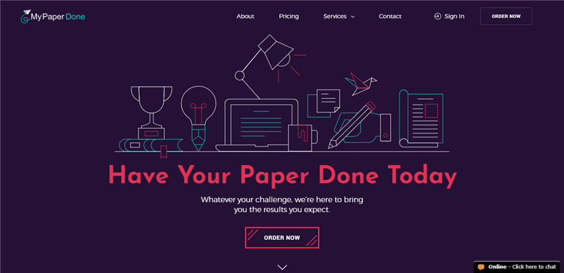 Mypaperdone.com review – Rated 2.4/10