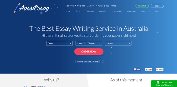 Aussiessay.com review – Rated 3.3/10
