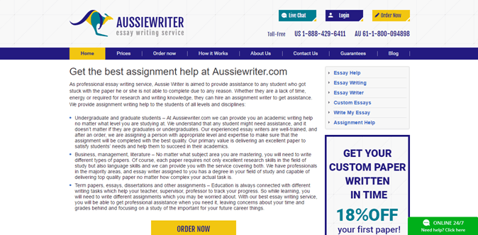 Aussiewriter.com review – Rated 3.4/10