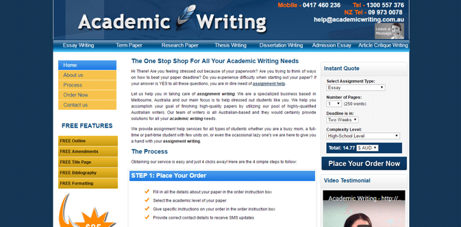 Academicwriting.com.au review – Rated 2.1/10
