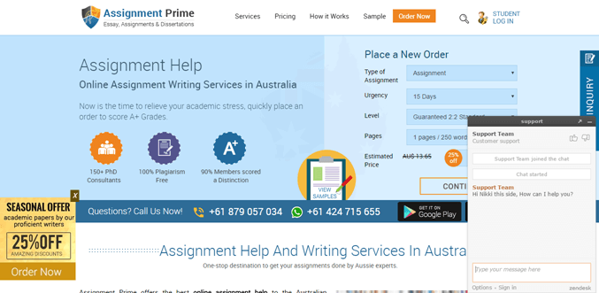 Assignmentprime.com review – Rated 2.4/10