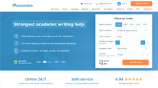 Academized.com review – Rated 9.6/10