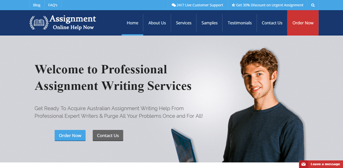 Assignmenthelpnow.com.au review – Rated 3.1/10