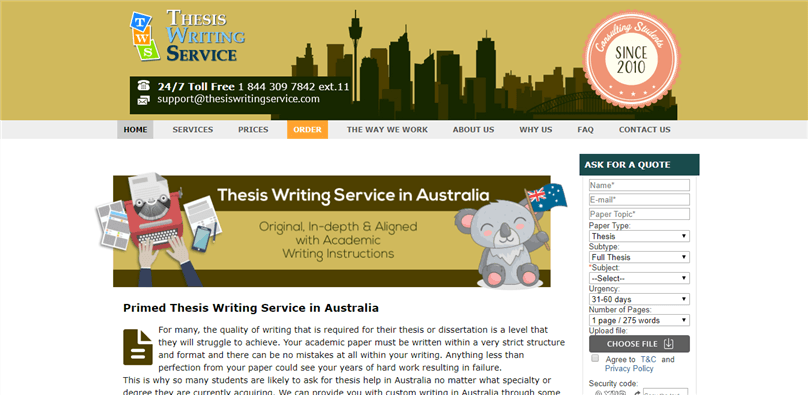 australia.thesiswritingservice.com review