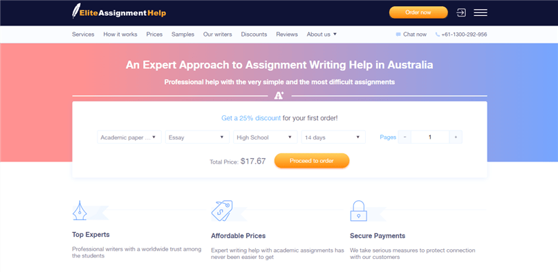 elite assignment help review
