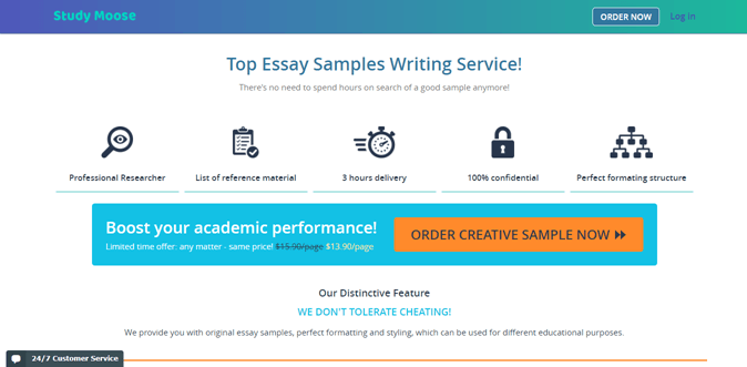 Essays.studymoose.com review – Rated 4.3/10