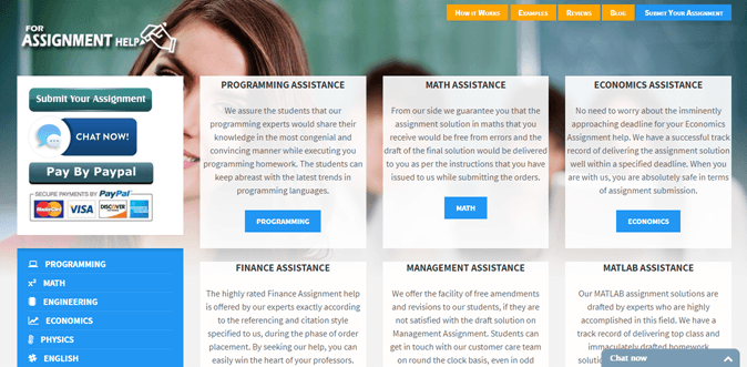 Forassignmenthelp.com review – Not Rated