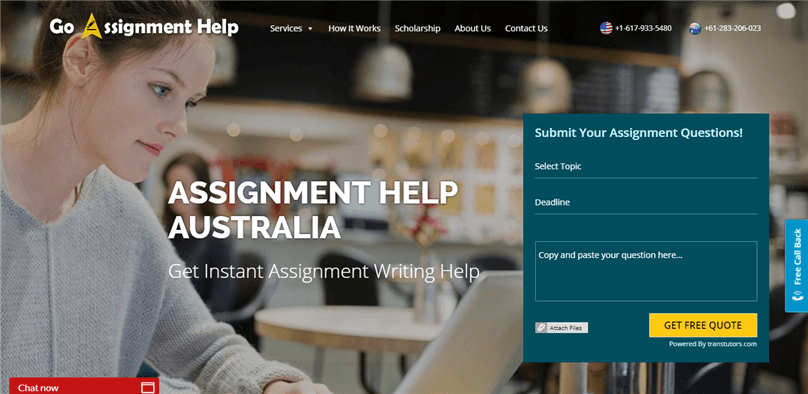 Goassignmenthelp.com.au review – Rated 2.1/10