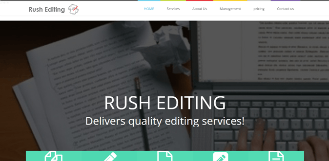 rushediting.site review