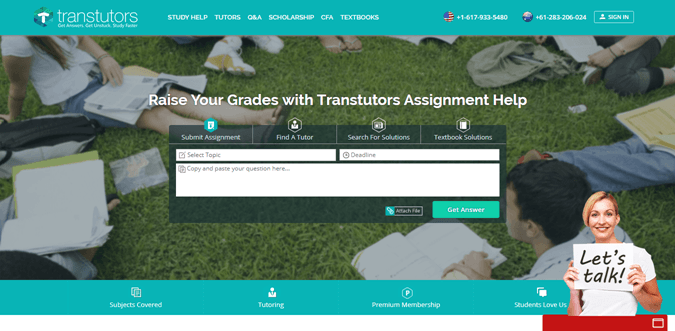 Transtutors.com review – Rated 2.9/10